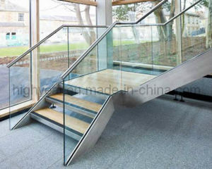 Staircases Aluminium Glass Channel and Slot Tube Set