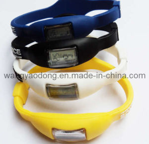 Power Wristband With Watch