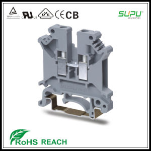Tension Clamp DIN Rail Component Terminal Connector Blocks pictures & photos