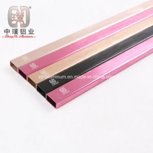 Extruded Square Aluminium Tube for Sanitary Wares (ZP--T600)