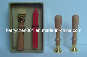 20mm Desk Set Wax Sealing Stamp Candle Kit, No. 3000 pictures & photos