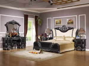 Middle East Classical Style Bedroom Set (WLL-8817B)