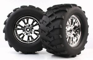 1/8 Monster Truck Tire (Mechanix /Chex) (WC1009)