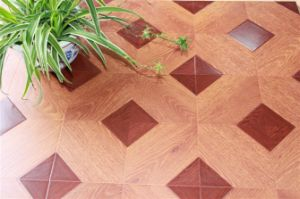 Parquet Style Laminate Flooring (418) pictures & photos