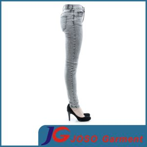 Women Fashion Skinny Denim Jeans (JC1350) pictures & photos