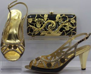 2012 Classy Lady Shoes and Bag Set