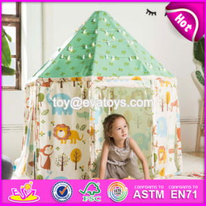 Indoor Large Playhouse Toddler Play Tent Most Popular Toy Teepee Toddler Play Tent W08L011 pictures & photos