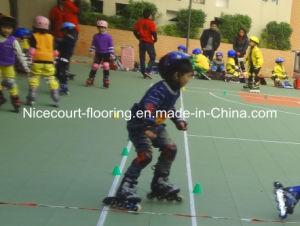 China Interlocking Skating Flooring Tile Roller Skating Court Floor - Skate court flooring