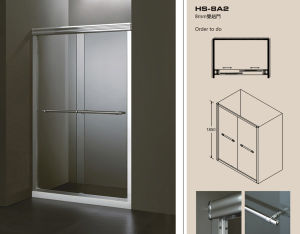 8mm Shower Sliding Door&Shower Screen (HS-8A2)