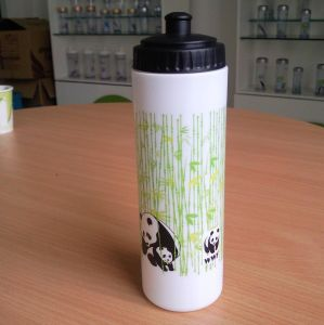 700ml Plastic Water Bottle With Push & Pull Screw Lid pictures & photos