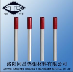 Tungsten Electrode Red Color 2% Thoriated Wt20 Length 150mm&175mm pictures & photos