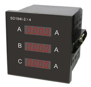 Three-Phase Current Digital Meter (SD194I-2*4)