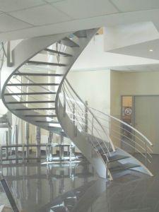 Curved Steel Staircase (N3)