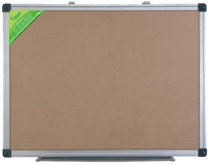 Single Side Cork Board with Aluminum Frame