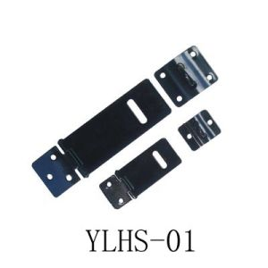 Black Japanned Iron Hasps & Staple (YLHS-01)