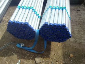 Galvanized Round Steel Tube From Factory pictures & photos