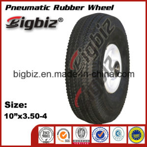 Small 6*2 Inches Pneumatic Solid Rubber Wheel pictures & photos