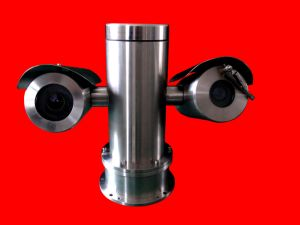 Outdoor Stainless Steel PTZ Camera with Laser Upto 500m IP68