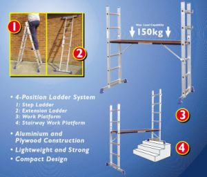 Scaffold Ladder (Asl-001)-Metro, Aldi, Saint-Gobain Ladders From Us Regularly
