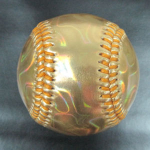 Baseball, Metallic PVC Cover, for Promotion (B06124) pictures & photos