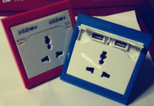 USB Sockets, USB Wall Charger for MP3, MP4, iPhone, iPad pictures & photos