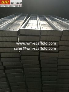 UK&Ireland Cuplock Scaffolding Steel Batten Metal Scaffold Planks pictures & photos
