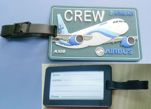 Unique Airport Rubber Luggage Tag (ASNY-JL-LT-12060404) pictures & photos