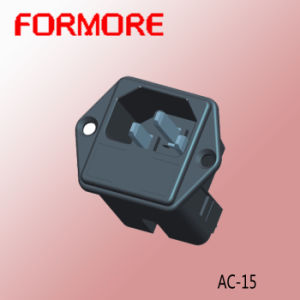 AC Socket with Fuse/Power Socket /Socket and Outlet pictures & photos