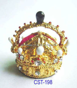 Miniature Royal Crown of Rudolph Ii of Austria 1602 (CST-198)