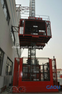 Hot Sale 3.2 Tons Frequency Electric Motor Construction Lift China Trade pictures & photos