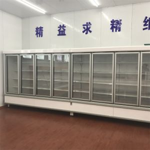 Commercial Glass Door Beverage Display Refrigerator pictures & photos