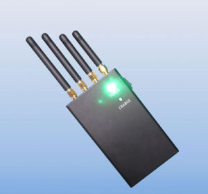 4 Band 4W Portable GPS Phone Signal Jammer