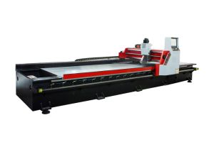 High Speed V Cutting with Metal Plate Gantry Type with Touch Screen/Bending Machine Grouped Machine
