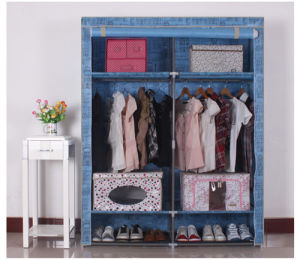 Simple Modern Folding Fabric Portable Bedroom Wardrobe Designs