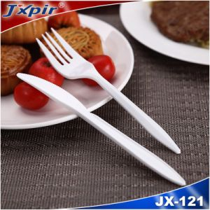 White PP Fork, Disposable Plastic Cutlery, Tableware pictures & photos