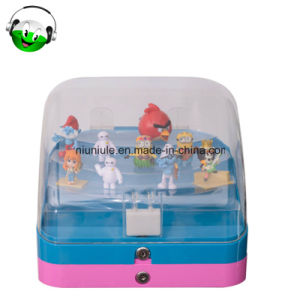 Double Layer Capsule Toy Vending Machine Parts Top Display