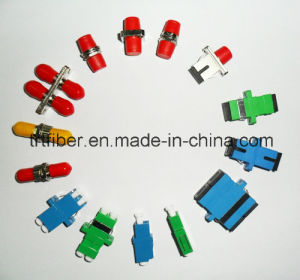 Sc/LC/St/FC Fiber Optic Adapter Supplier pictures & photos
