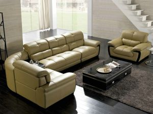 Corner Sofa L Shape Sofa Home Leather Sofa pictures & photos