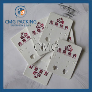 Wholesale Custom Printed Cardboard Earring Card pictures & photos