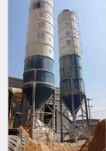 AAC Block Making Machine-Cement Silo pictures & photos