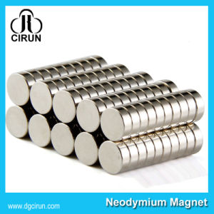 Countersink Hole Disc N35 Sintered Neodymium Magnets for Package
