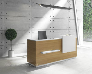 Fashion Design Office Front Desk for Reception Area (HF-ZTLK1013) pictures & photos