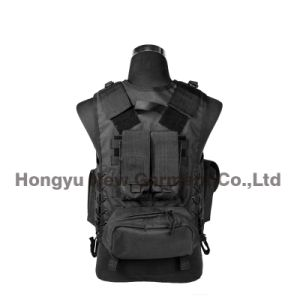 Army Military Paintball Combat Soft Tactical Safety Camping Vest (HY-V059) pictures & photos