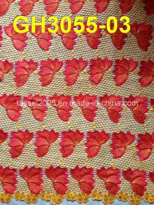 New Design Multi-Color Guipure Lace (GH3055) pictures & photos