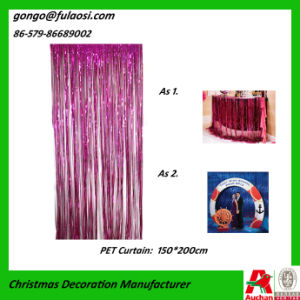 Wedding Festival Decoration of Decorative Metallic Curtain