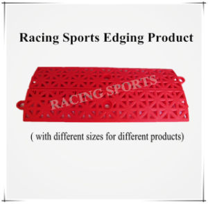 Racing Sports Edging Product PP Polypropylene Sports Flooring