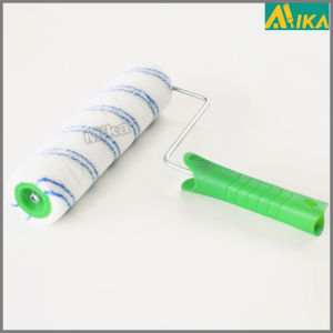 11mm Double Blue Polyester Paint Roller with Handle