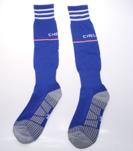 New Design Polyester Football Socks pictures & photos
