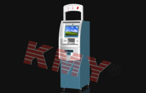 Floor Standing Internet Bank Payment Touch Screen Kiosk Machine pictures & photos