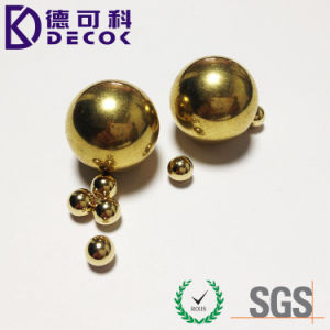 C28000 Small Round Solid Brass Ball